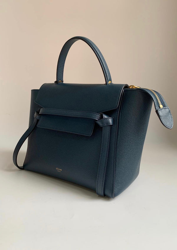 Celine Micro Belt Bag Abyss Blue