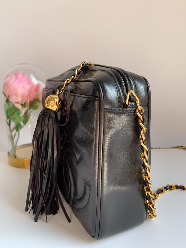 Chanel 3CC Medium Vintage Camera Bag