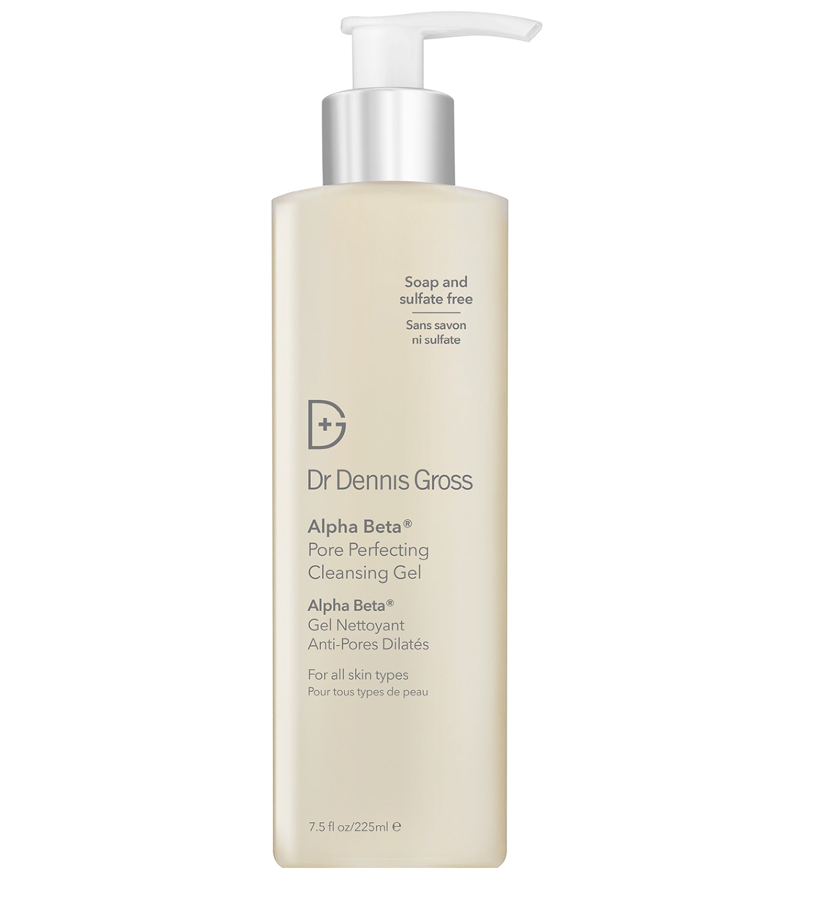 Alpha Beta® Pore Perfecting Cleansing Gel  dr Dennis gross exfoliering rengöring gel acne