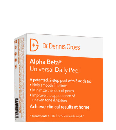 Alpha Beta® Universal Daily Peel peeling dr Dennis gross exfoliating anti age