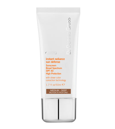 Instant Radiance Sun Defence Sunscreen SPF 40 Medium Deep - 50ML