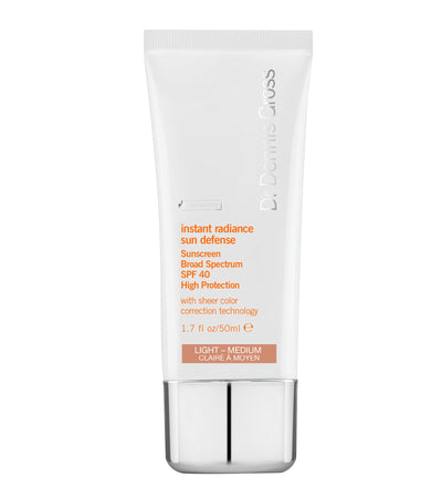 Instant Radiance Sun Defense Sunscreen SPF 40 Light Medium - 50ML