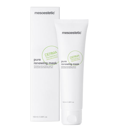 Pure Renewing Mask mesoestetic acne porer seborreisk hy