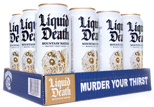 Liquid Death 8-pack