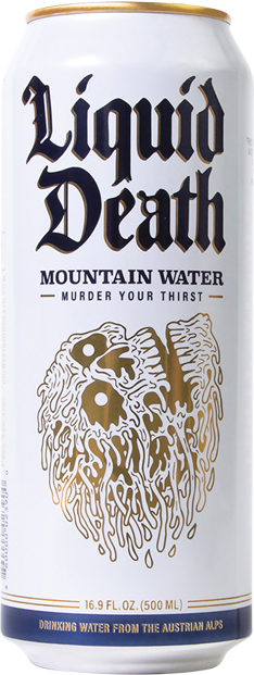 Liquid Death Mountain Water | Murder Your Thirst | Liquid Death