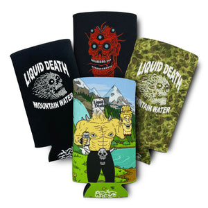 Liquid Death Koozie