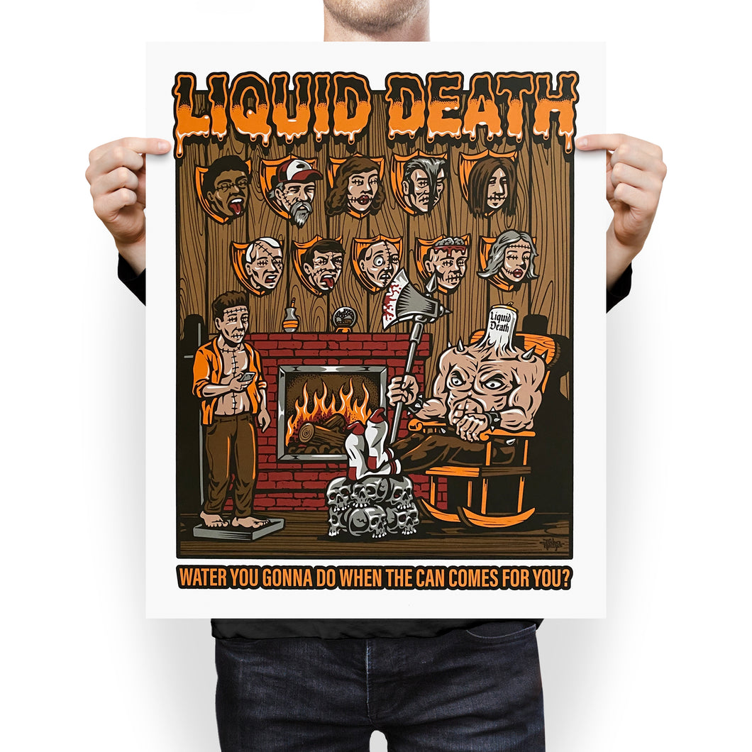 Death Cabin Poster