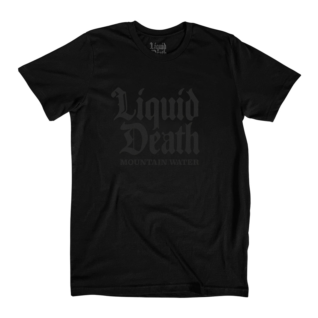 Brutal Death Tee (Murdered Out)