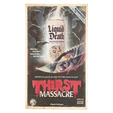Thirst Massacre Poster (Limited Edition)