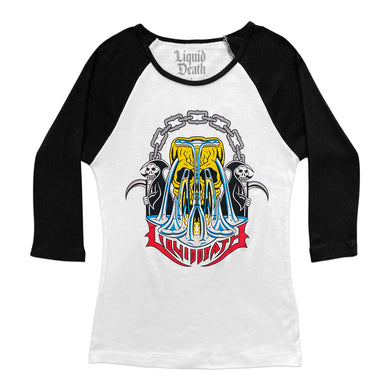 Double Death Baseball Tee (Women's)