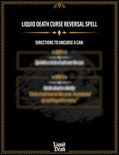 Load image into Gallery viewer, Curse Reversal Spell - Liquid Death