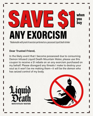 Digital Exorcism Coupon