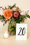 The Big Day Box© FLORAL - place cards, table numbers, signage, card box, menus, and programs