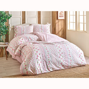 Brielle Gonca Duvet Cover Set (4 pcs) - Double Size - Pink