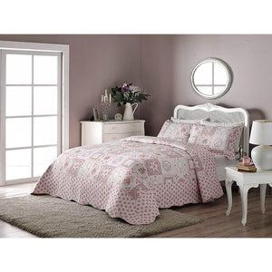 Allegro Quilted Bedspread Set (3 Pieces) - Patchwork