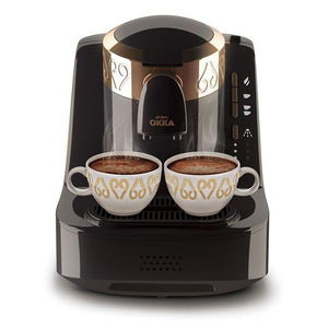 Arzum OKKA Turkish Coffee Machine | Black - Golden | OK001