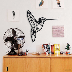 Hoagard Bird Metal Wall Art | Geometric Metal Wall Art & Wall Decoration
