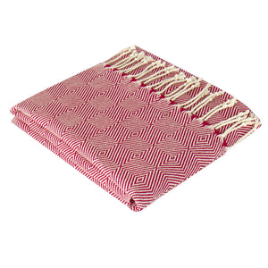Lykos Hammam Towel | Red