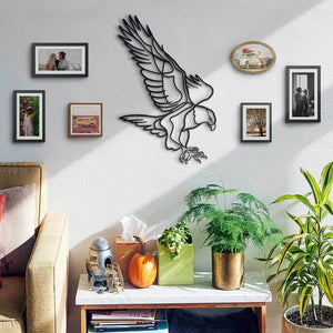 Hoagard Aquila Metal Wall Art | Geometric Metal Wall Art & Wall Decoration