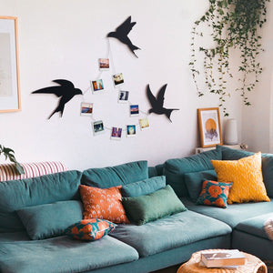 Hoagard Metal Wall Decoration | Swallows
