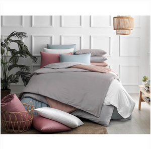 Everyday - Cotton Satin Duvet Cover Sets - (4 pieces)