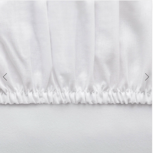 Basic Fitted Sheet Set ( Bedsheet + 2 Pillowcases) - 160x200 cm - White