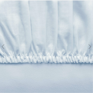 Basic Fitted Sheet Set ( Bedsheet + 2 Pillowcases) - 160x200 cm - Light Blue