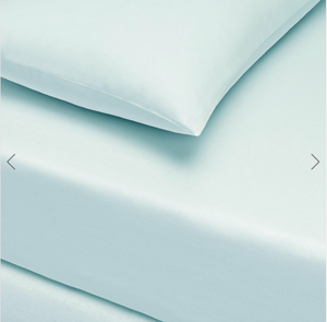 Basic Fitted Sheet Set ( Bedsheet + 2 Pillowcases) Super King - 180x200 cm - Mint