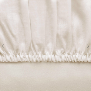 Basic Fitted Sheet Set ( Bedsheet + 2 Pillowcases) - 160x200 cm - Latte