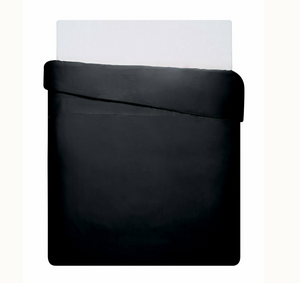 Mix & Match - Cotton Satin Duvet Cover Set (3pieces) - Black - 200x220 cm