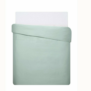 Mix & Match - Cotton Satin Duvet Cover Set (3 pieces) - Mint Green - 200x220 cm