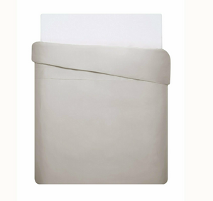 Mix & Match - Cotton Satin Duvet Cover Set (3 pieces) - Sand - 200x220 cm