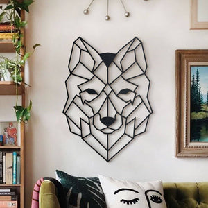 Hoagard Metal Wall Decoration | Wolf | Metal Wall Art