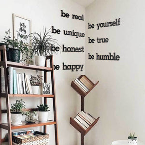 Hoagard | Be Yourself Wall Art | Wall Signs and Quotes | 2 Piece