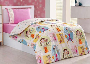 Sarar - Sarev Bazaar Lola Baby Ranforce | Duvet Cover Set for Girls