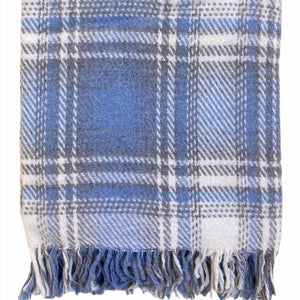 Scotch - Throw Sofa Blanket - Blue - 130×170 cm