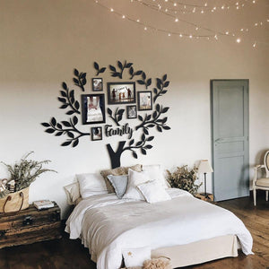 Family Tree - Metal Wall Art