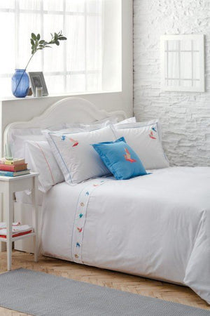 Sarar Home | Peace Double Person Duvet Cover 200*220 cm Percale Fabric