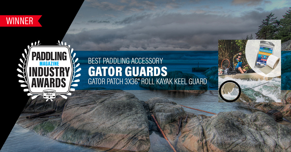 "Gator Patch Wins ""Best Paddling Accessory"" 2 Years in a Row"