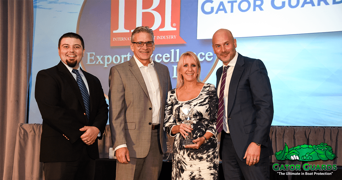 Gator Guards Wins IBI Export Excellence Award