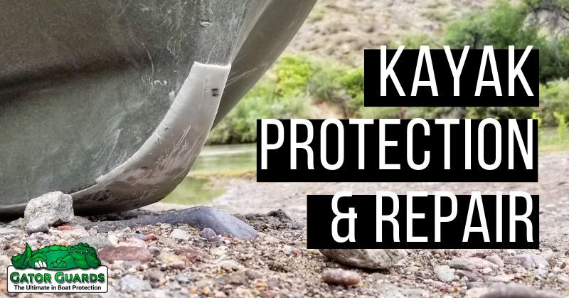A Kayak Keel Guard to Protect and Repair your Plastic Kayak
