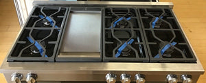 Miele M-Touch Series HR1956DFGD 48 Inch Pro-Style Dual-Fuel Range With Griddle