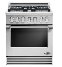 Load image into Gallery viewer, DCS RGV305N Professional Series 30 Inch Slide-in Gas Range with 5 Burners Gas