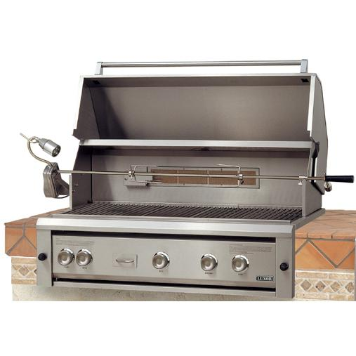 Luxor 42-Inch Built-In Natural Gas Grill With Rotisserie - AHT-42RCV-BI-NG