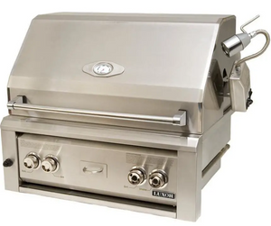 Luxor 30-Inch Built-In Propane Gas Grill W/ One Infrared Burner & Rotisserie - AHT-30RCV-BI-LP
