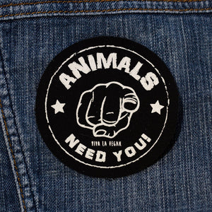 Tygmärke: Animals need you