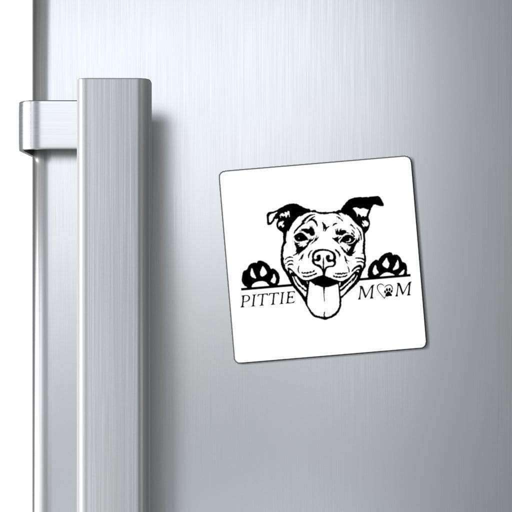 Paper products Pittie Mom Car Magnet