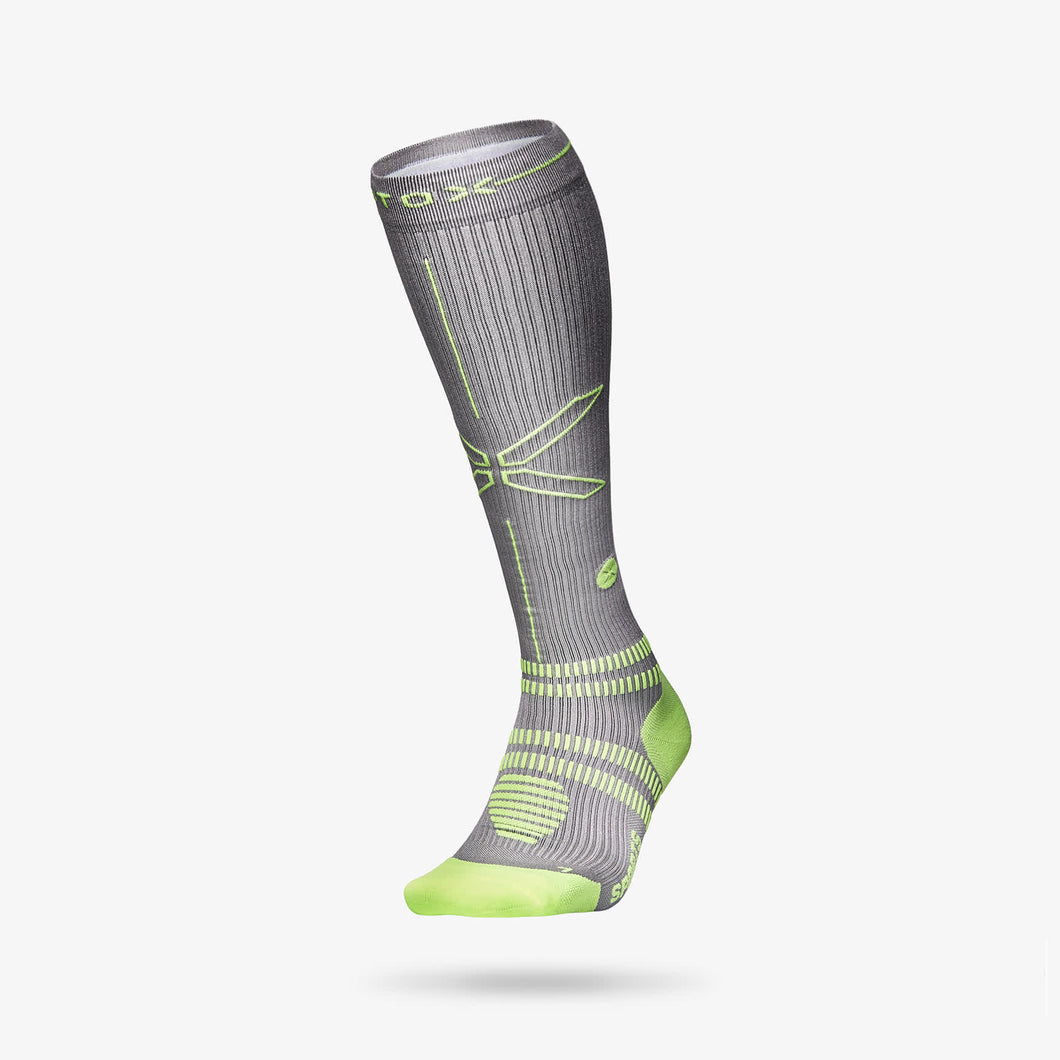 Sports Socks Men - Silver / Yellow