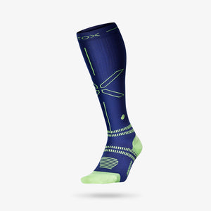 Sports Socks Men - Dark Blue / Yellow