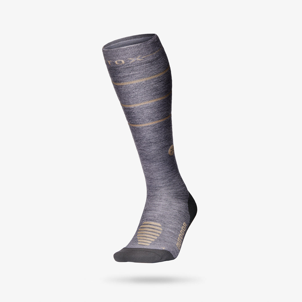 Outdoor Socks Women - Grey / Beige